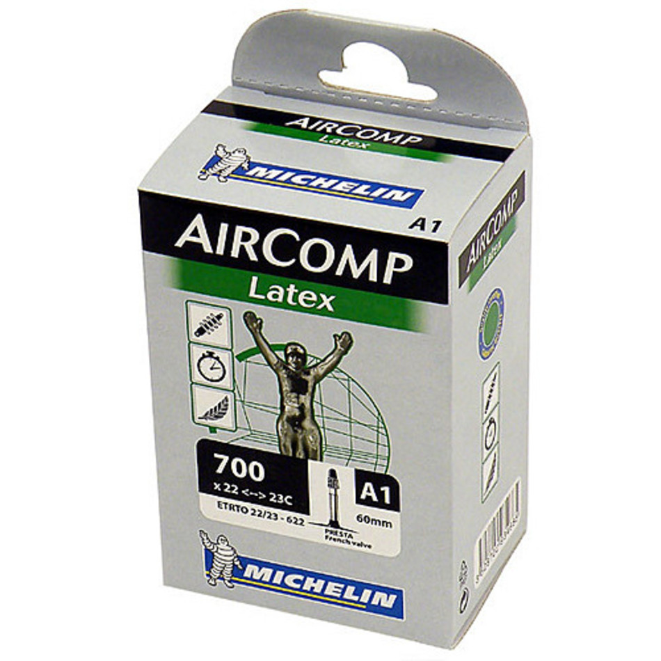 Michelin Aircomp Latex Tube 700 x 22/23