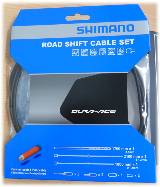 Shimano Dura Ace 9000 Road Gear Cable Set - Polymer