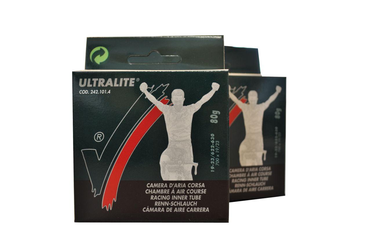 Vittoria Ultralite 42mm Short Valve Inner Tube - 700c