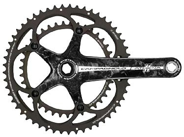 Campagnolo Athena Power-Torque Carbon Chainset - 11 Speed