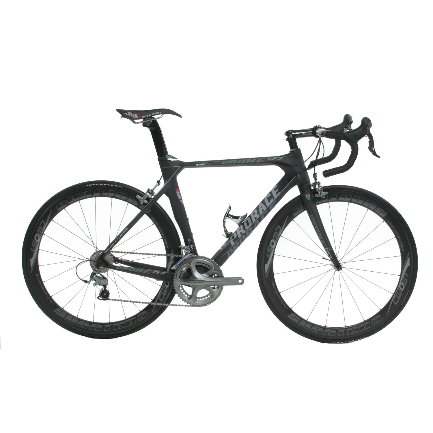 Prorace Drone CF-3 Road Bike - Athena Large - White