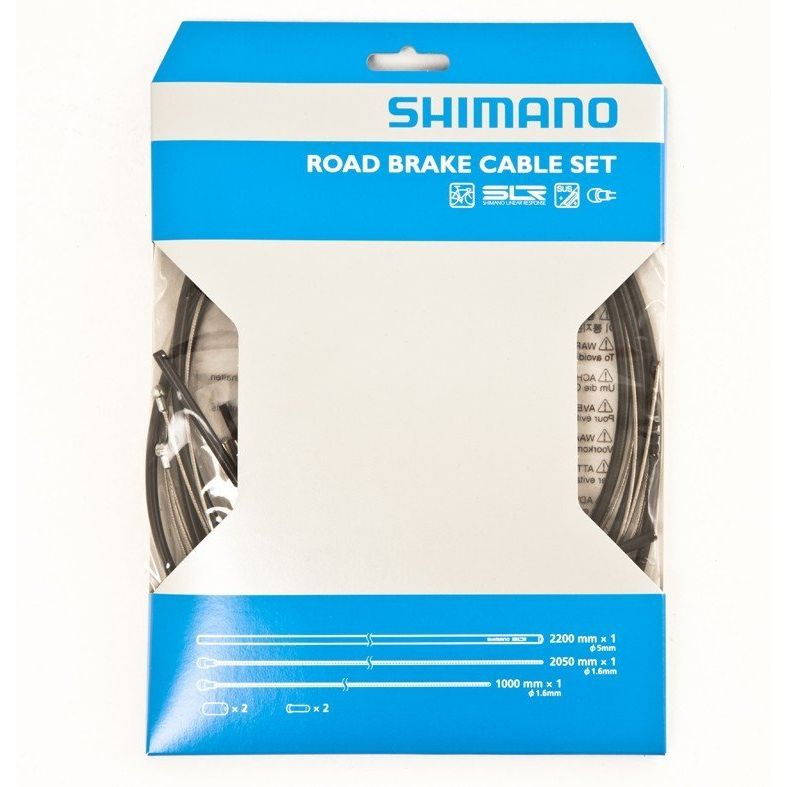 Shimano Road Brake Cable Set - Stainless