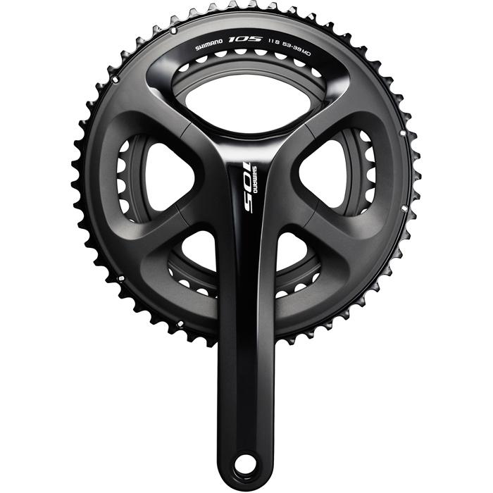 Shimano 105 FC-5800 Road Bike Chainset - Black