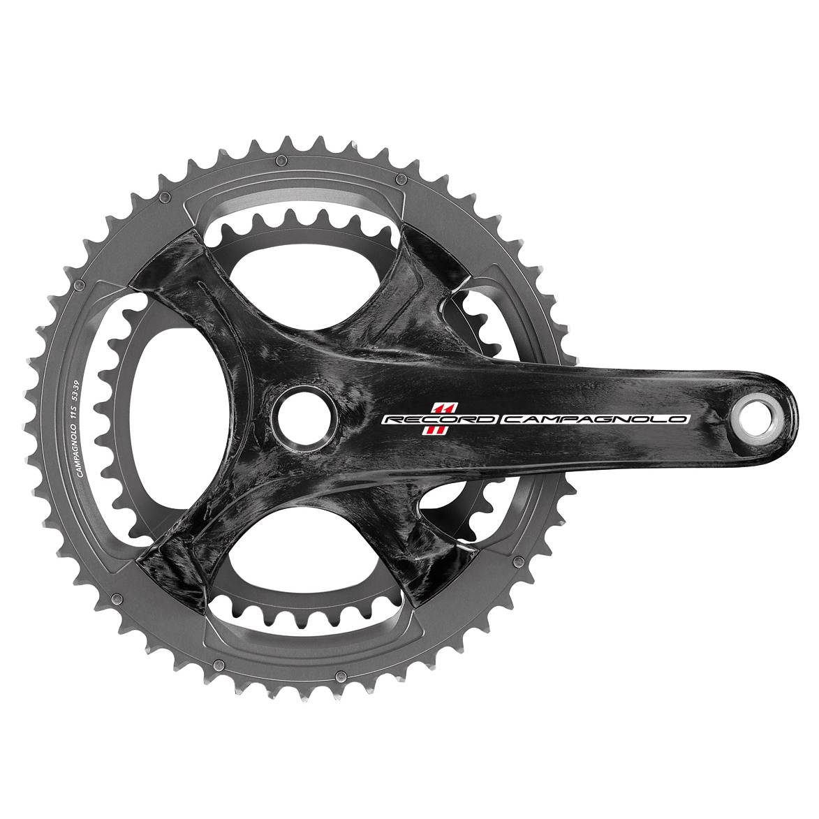 Campagnolo Record Ultra Torque CT Carbon Chainset - 11 Speed