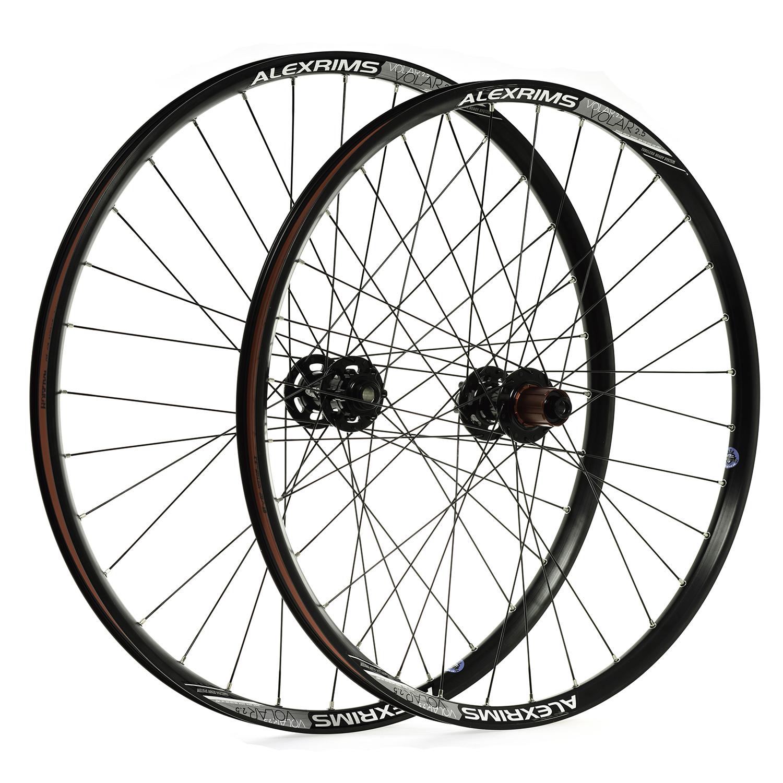 "Pro-Build Chosen Hub / Alex Volar Trail Wheels - 27.5"""