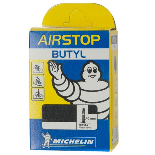 Michelin Airstop Presta Tube 40mm Valve - 700c x 25/32mm