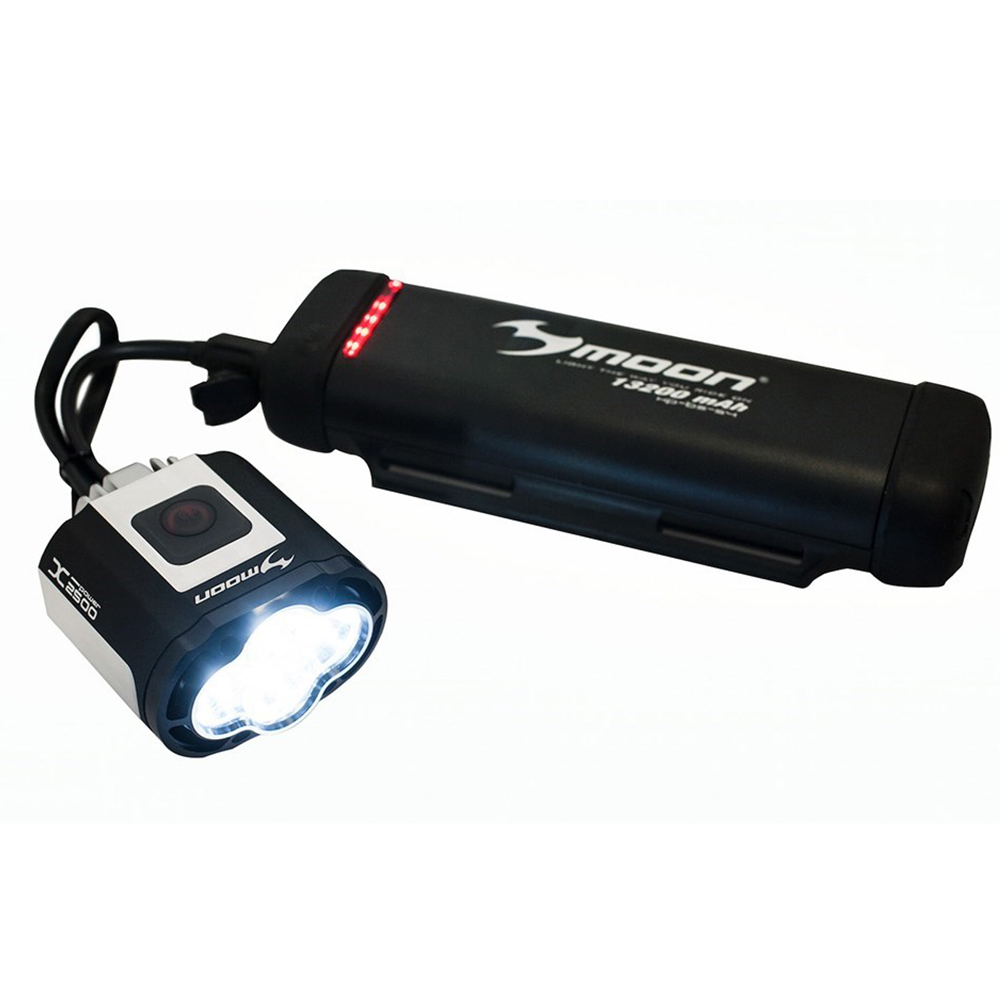 Moon XP1800 Rechargeable LED Front Bike Light