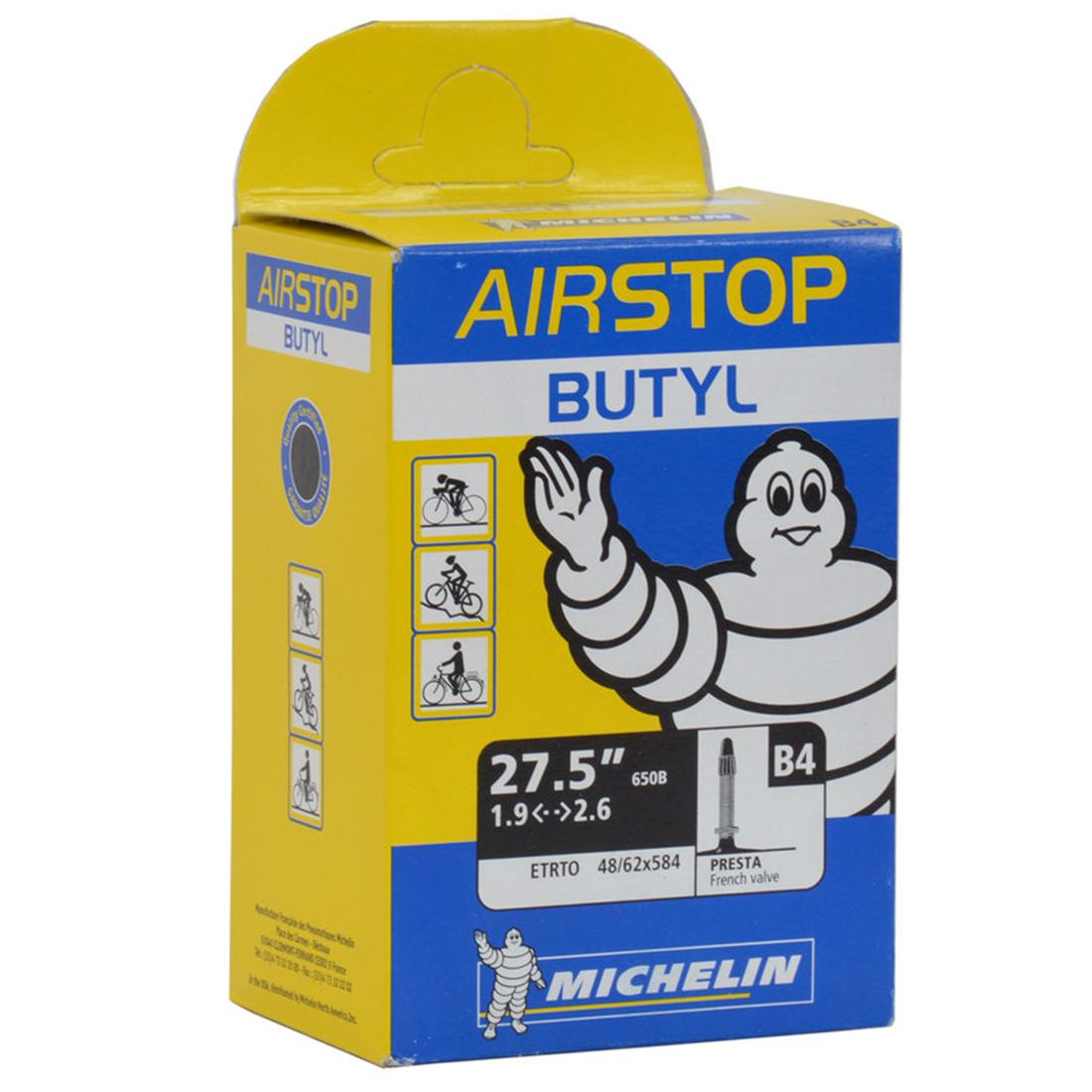 "Michelin B4 Airstop 27.5"" MTB Inner Tube"