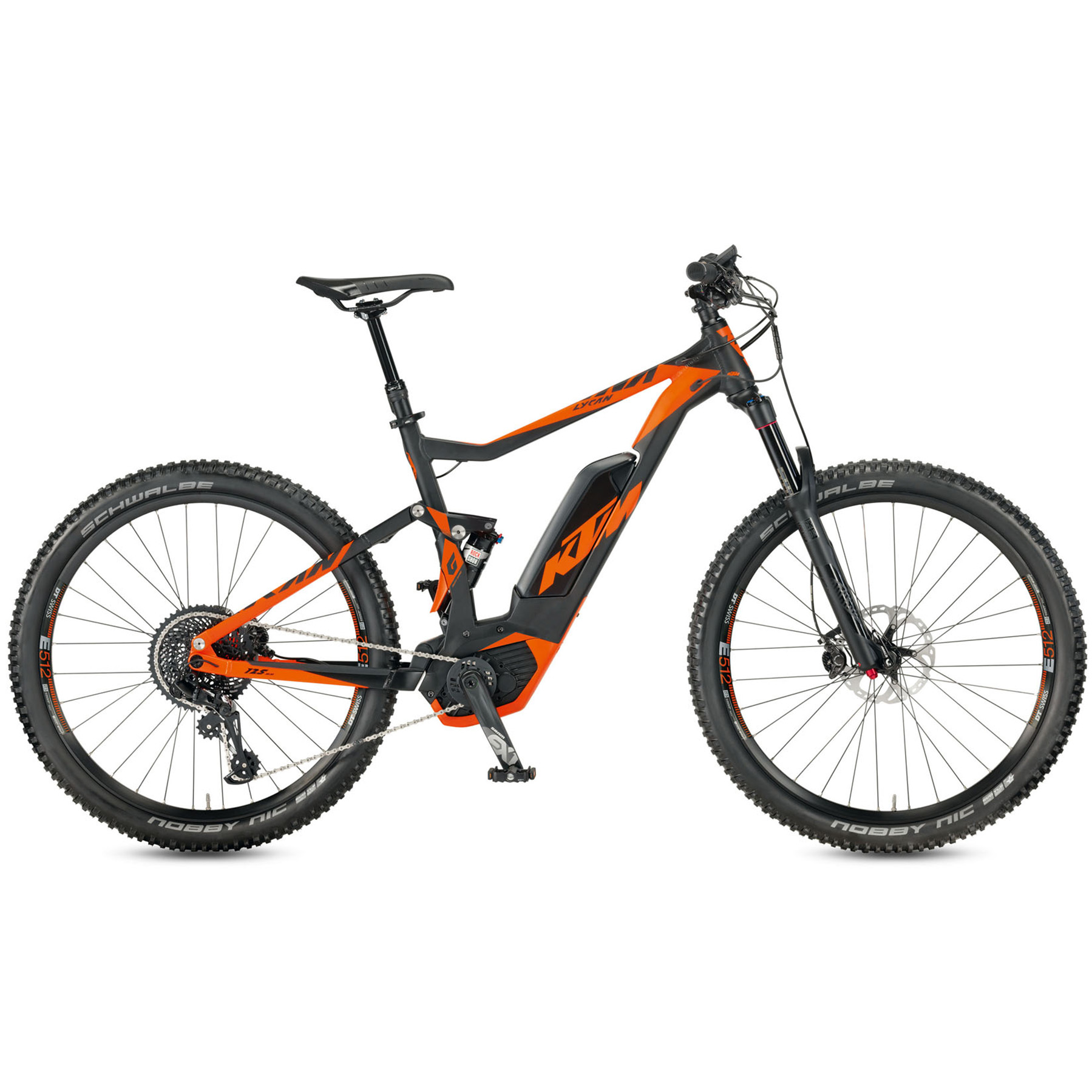 1de028b497a408 KTM Macina Lycan 271 Bosch E-Bike Mountain Bike – 2017