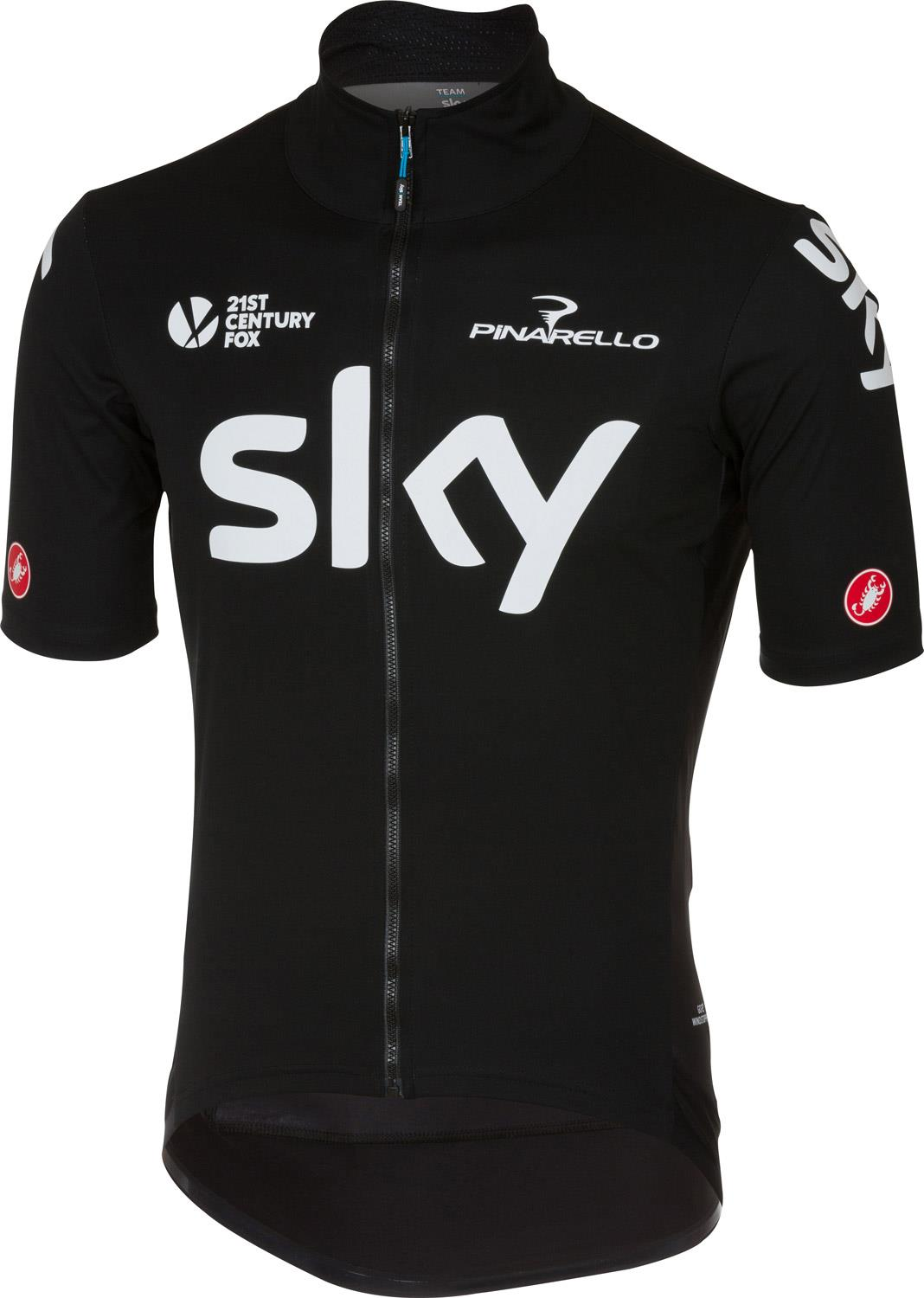 bb5952536 Castelli Team Sky Perfetto 2 Light Cycling Jersey - 2017