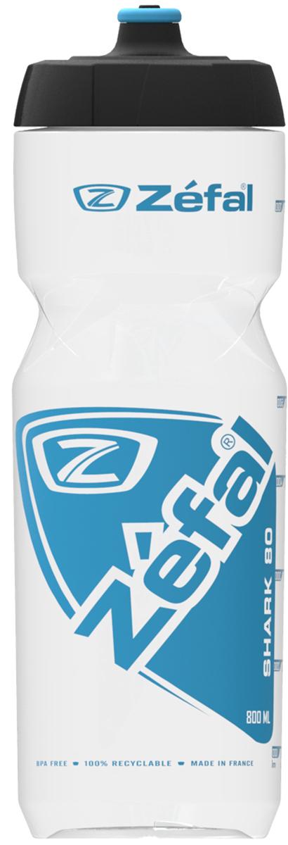 Zefal Shark 80 Translucent Bottle - 800ml