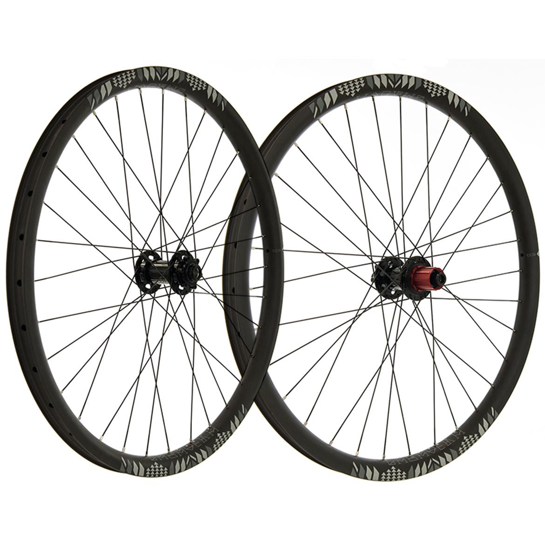 """Pro-Build Chosen Hub / Calavera CC28 Carbon Trail Wheels - 27.5"""""""