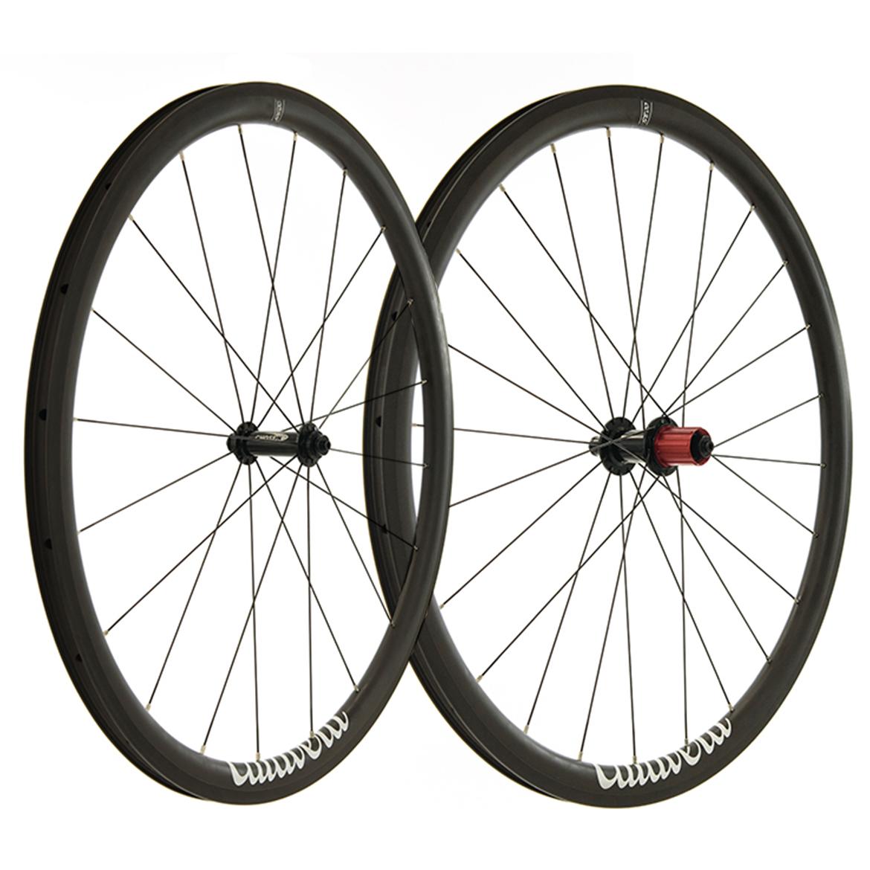 Pro-Build Chosen Hub / Calavera CC35 Carbon Road Wheels - 700c