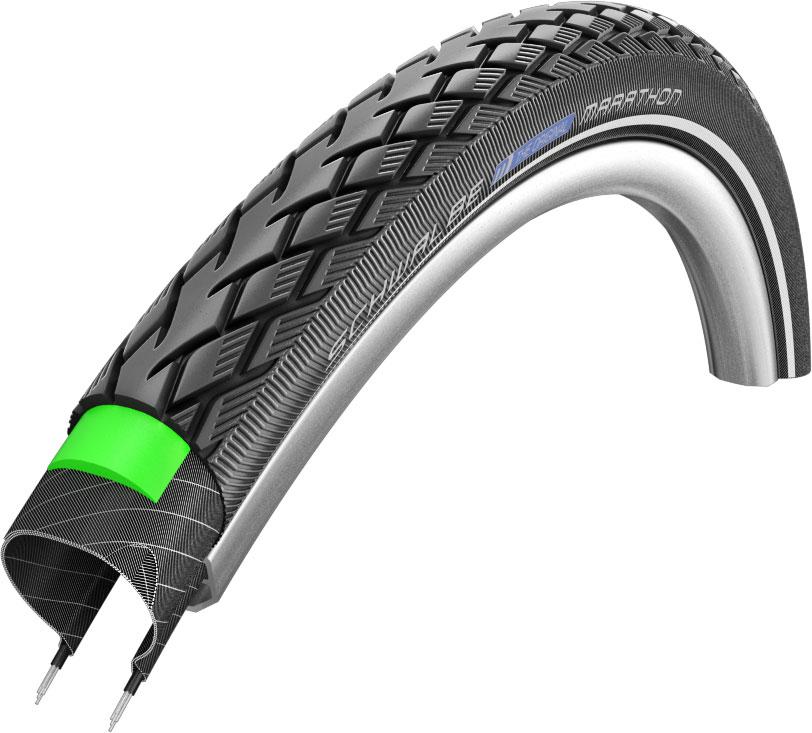 "Schwalbe Marathon Greenguard Touring Tyre - 20"""