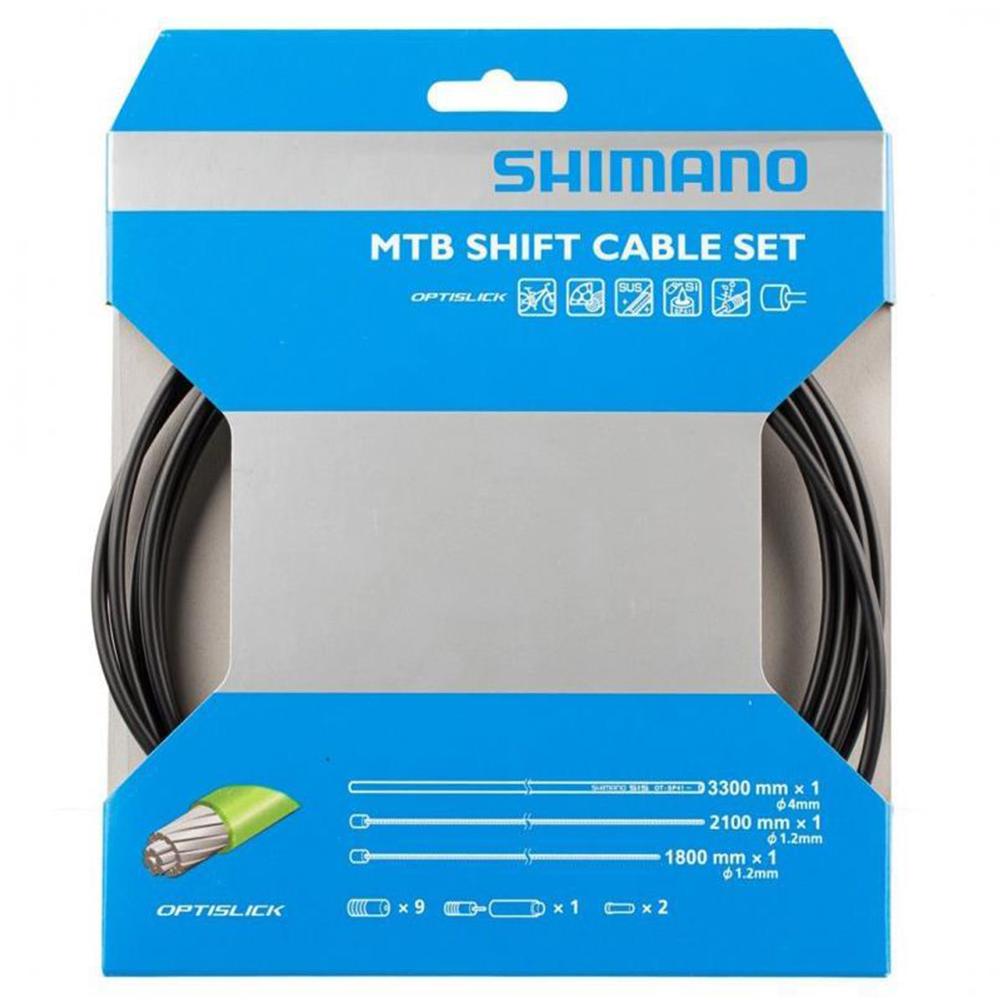 Shimano XT M8000 MTB Optislick Gear Cable Set