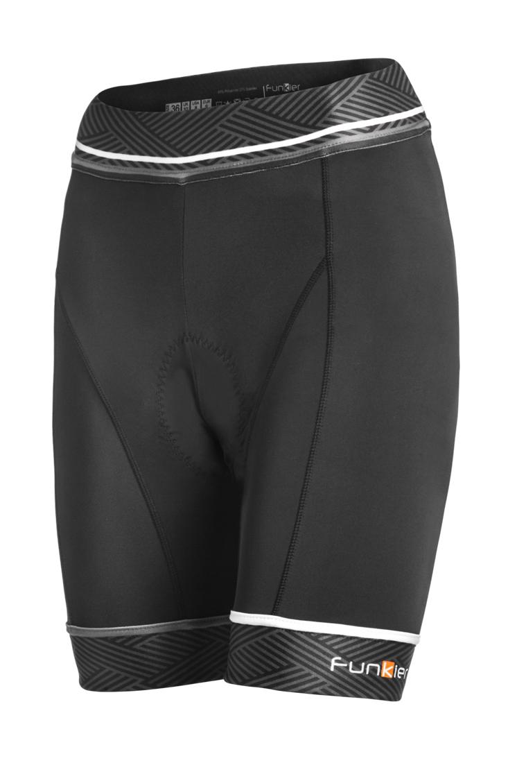 Funkier Ridesse 8 Panel Ladies Cycling Shorts