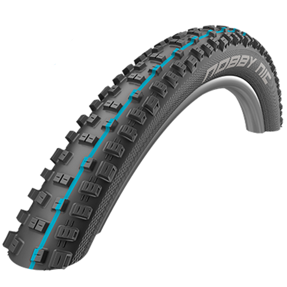 "Schwalbe Nobby Nic Addix SpeedGrip Folding Tyre - 27.5"""