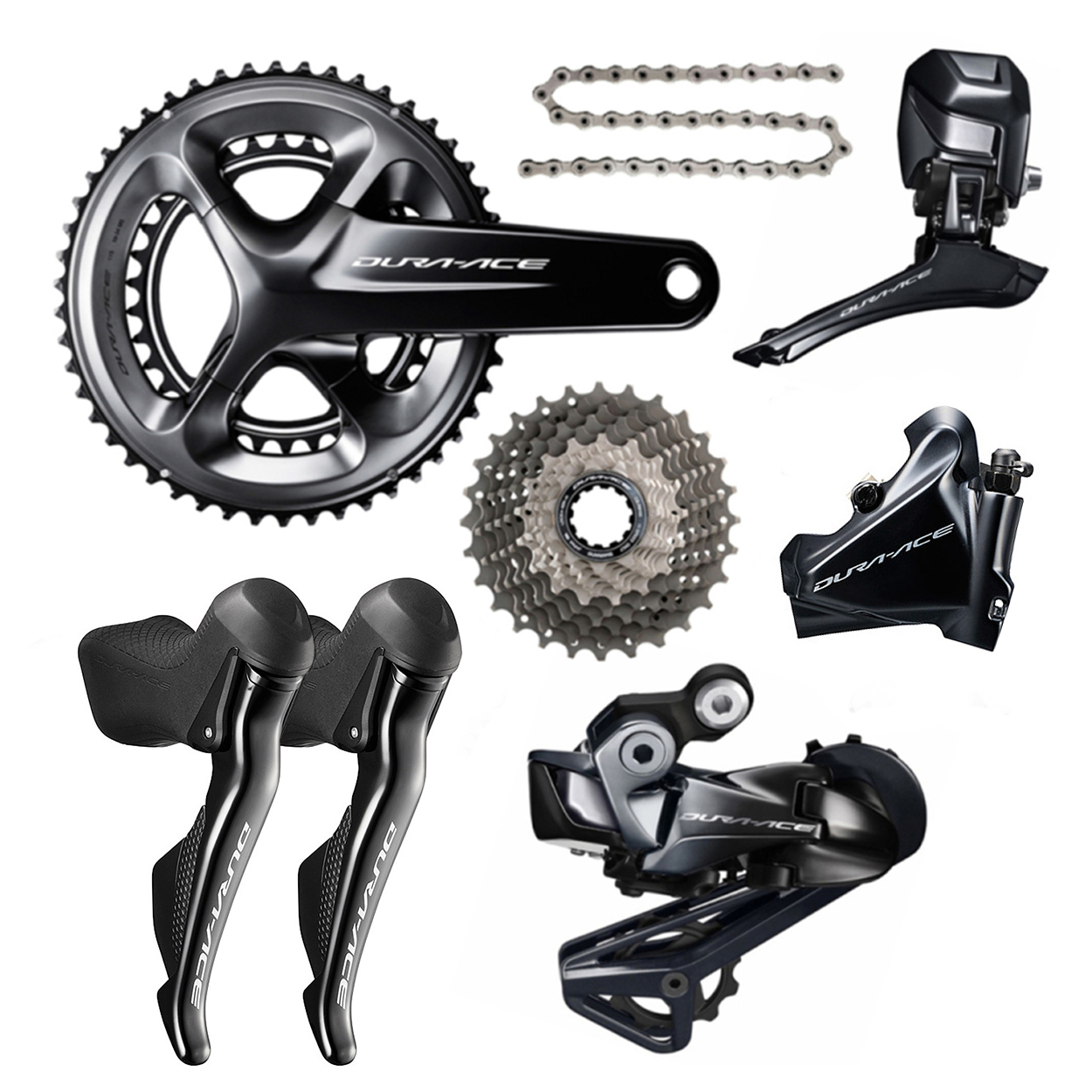 Shimano Dura Ace R9170 Disc Di2 11 Speed Groupset Builder