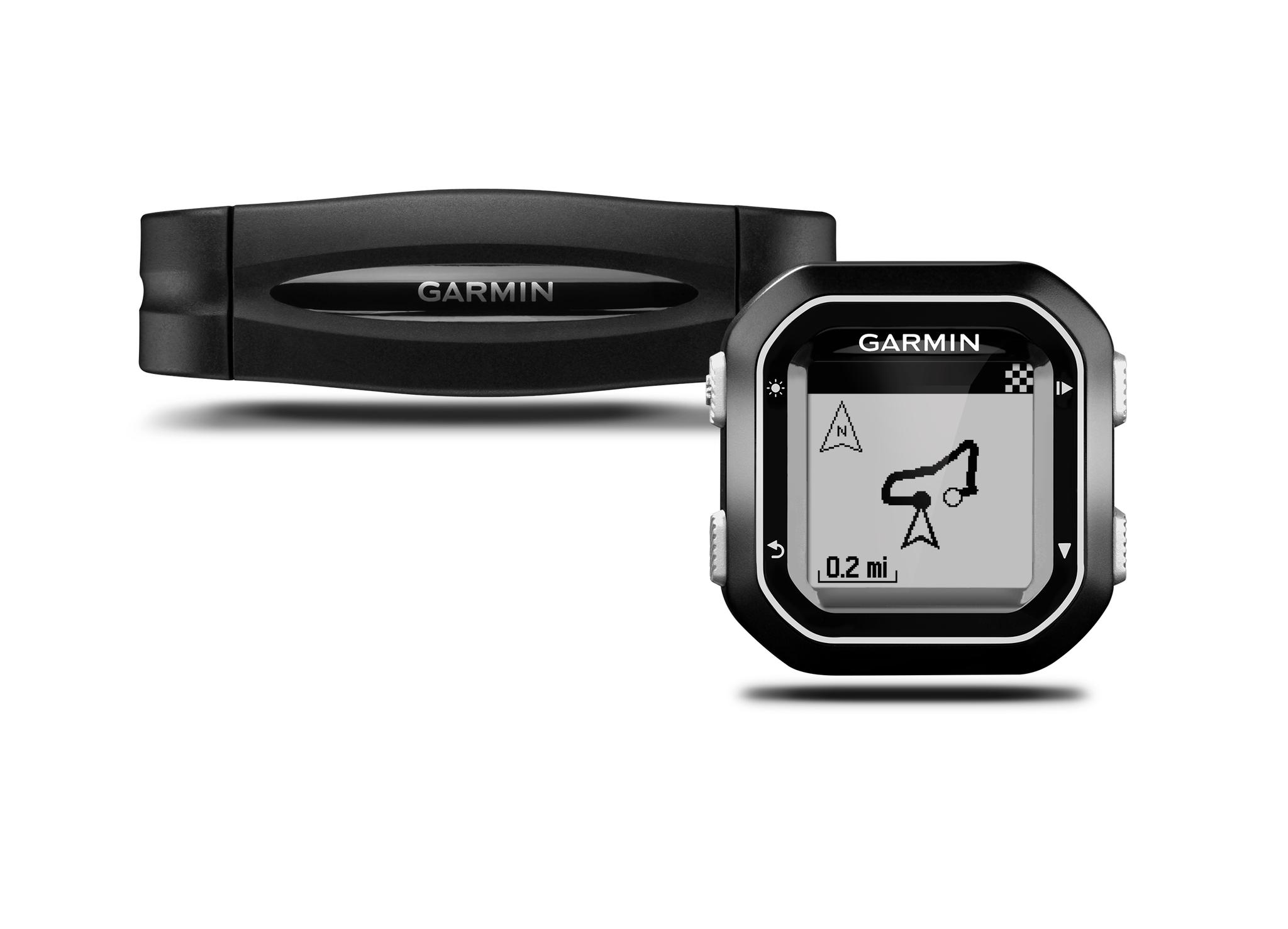 Garmin Edge 25 GPS Computer With Heart Rate Monitor