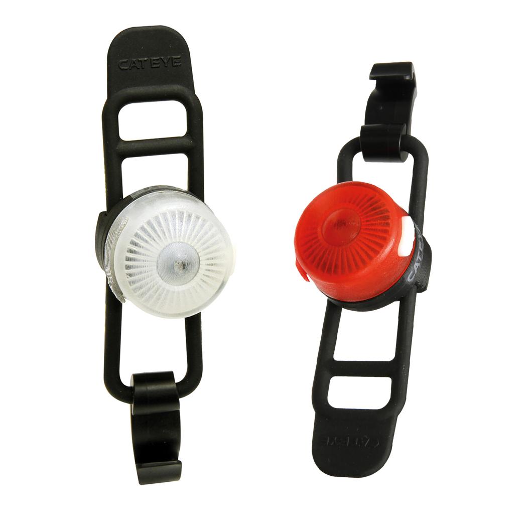 Cateye Loop 2 Front & Rear Bike Light Set