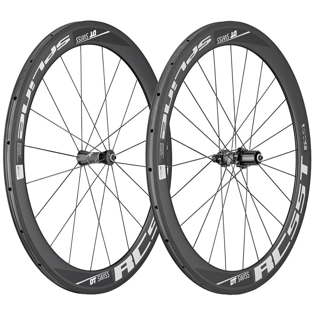 DT Swiss RC55 Spline Carbon Tubular Road Wheelset - 700c