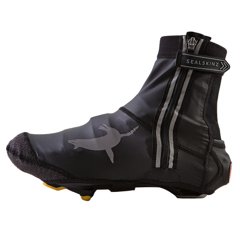Sealskinz Lightweight Open Sole Halo Cycling Overshoes
