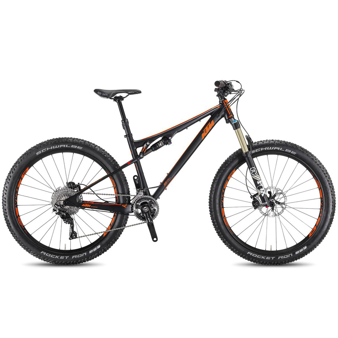 ktm kapoho custom build 27 5 mountain bike 2017. Black Bedroom Furniture Sets. Home Design Ideas