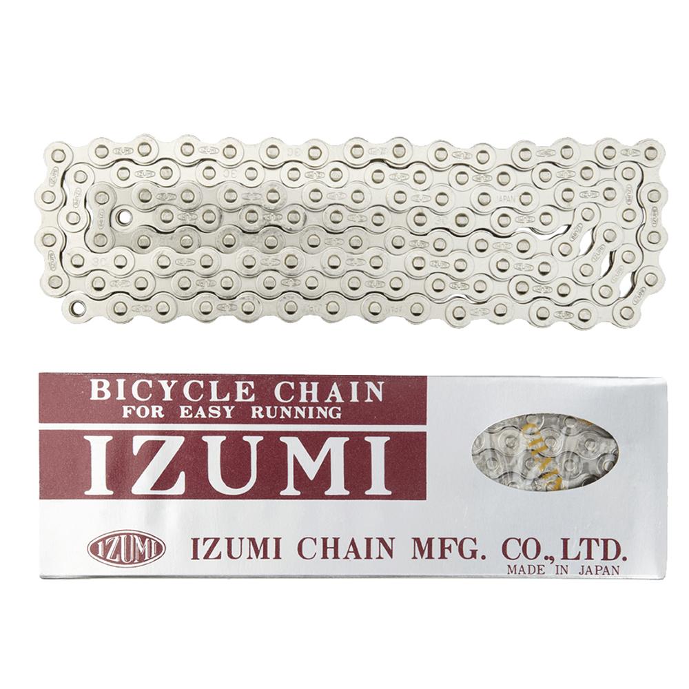 Izumi Standard 1/8 Track Chain Silver