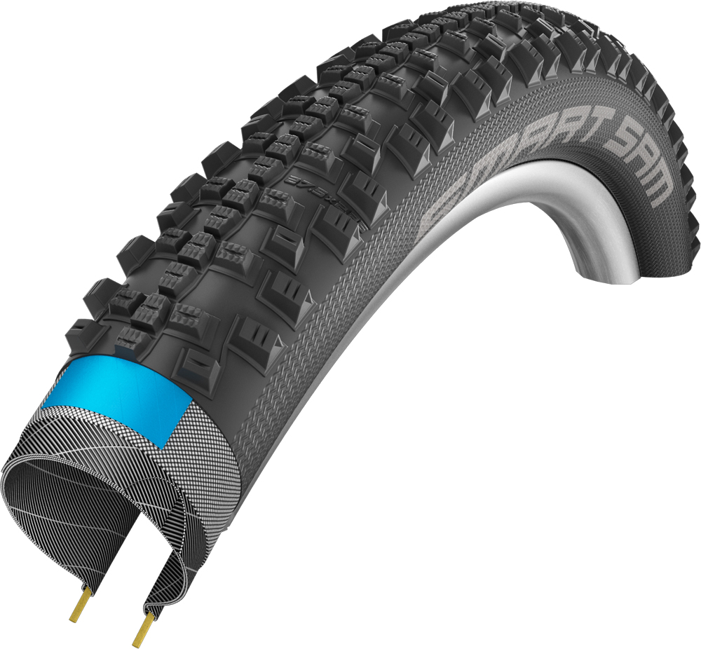 """Schwalbe Smart Sam Performance Double Defence Folding Tyre - 27.5"""""""