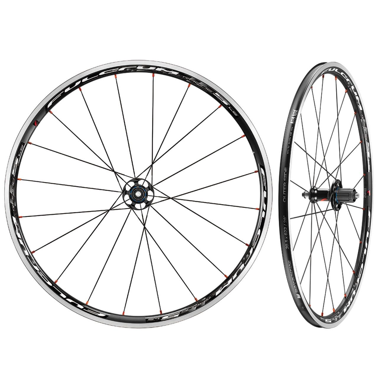 Fulcrum Racing 5 LG C17 Clincher Road Wheelset