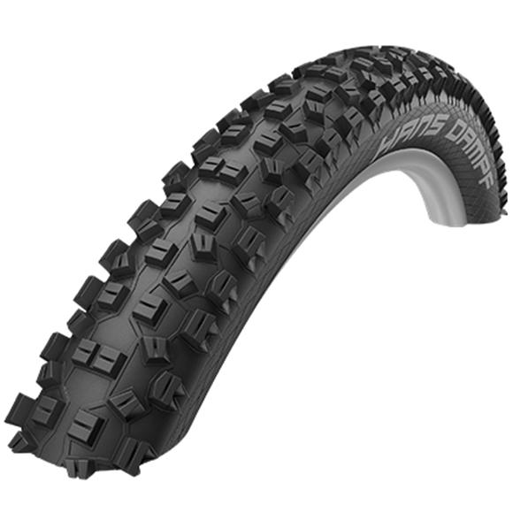 "Schwalbe Hans Dampf SnakeSkin Folding MTB Tyre - 26"""