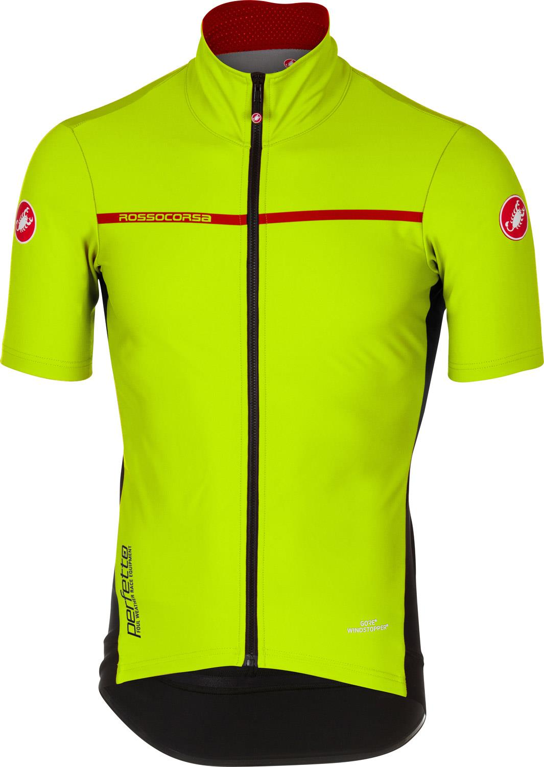 194939ed8 Castelli Perfetto Light 2 Short Sleeve Cycling Jersey - AW18 ...