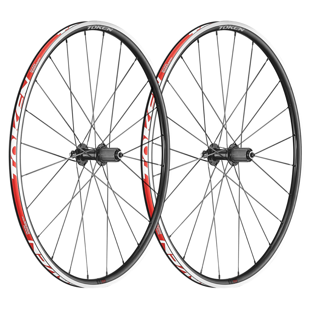 Token EC22W Resolute Clincher Road Wheelset