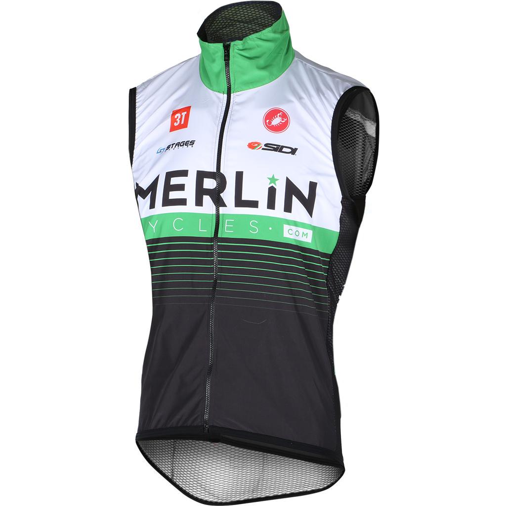 Merlin Castelli Pro Light Wind Team Cycling Vest