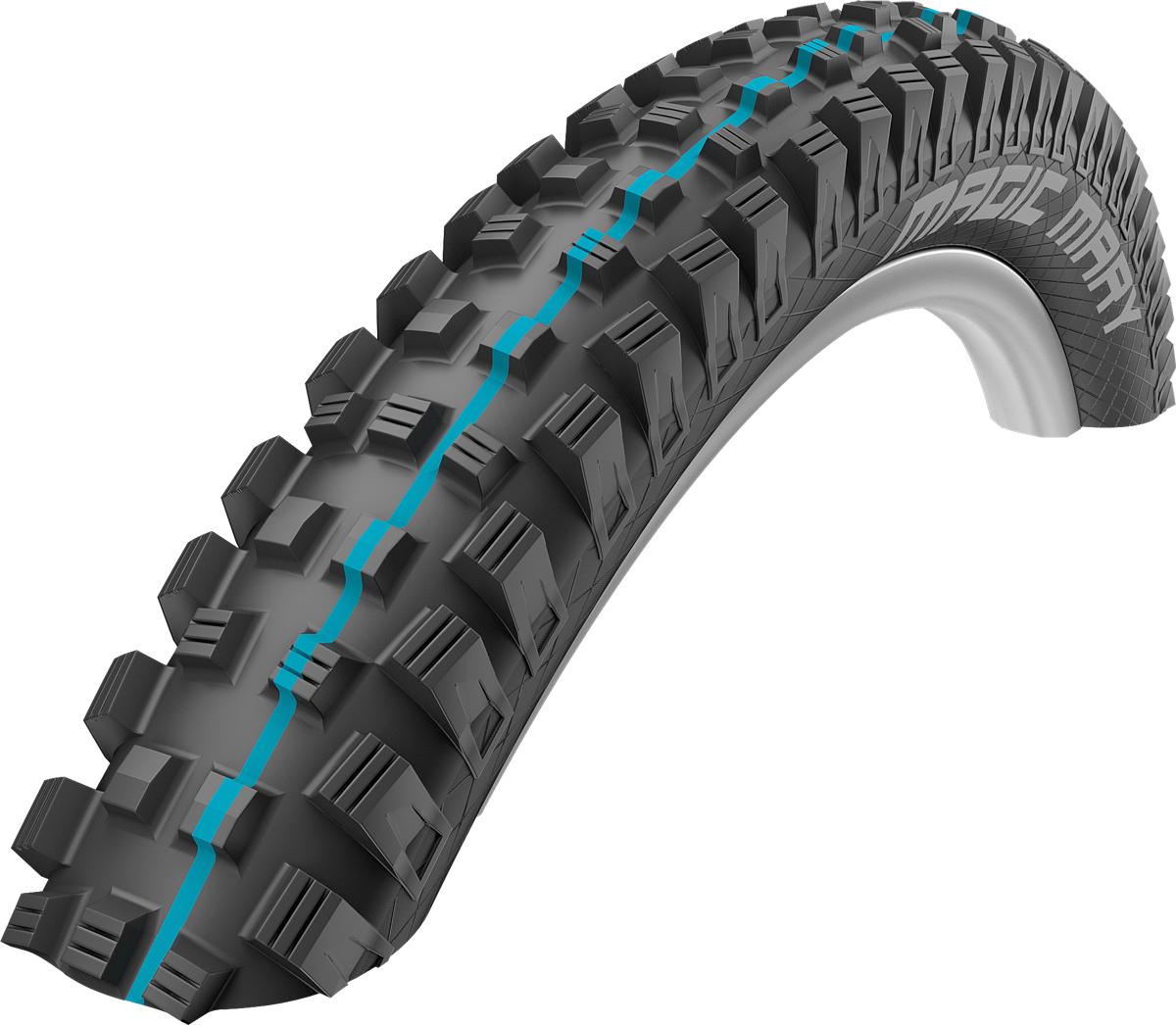 "Schwalbe Magic Mary Addix SportGrip Gravity Apex Folding Tyre - 27.5"""