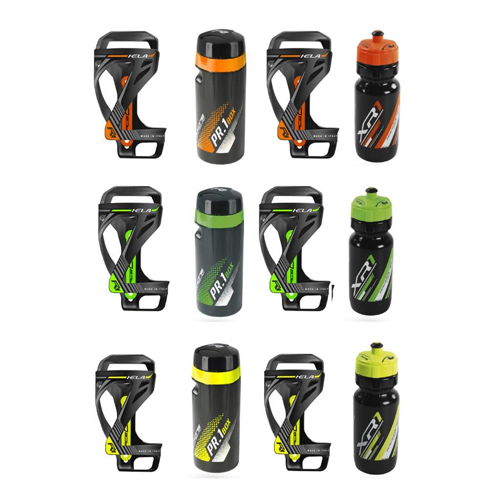 Raceone Kit Kela – 2x Bottle Cages with Bottle & Toolbox