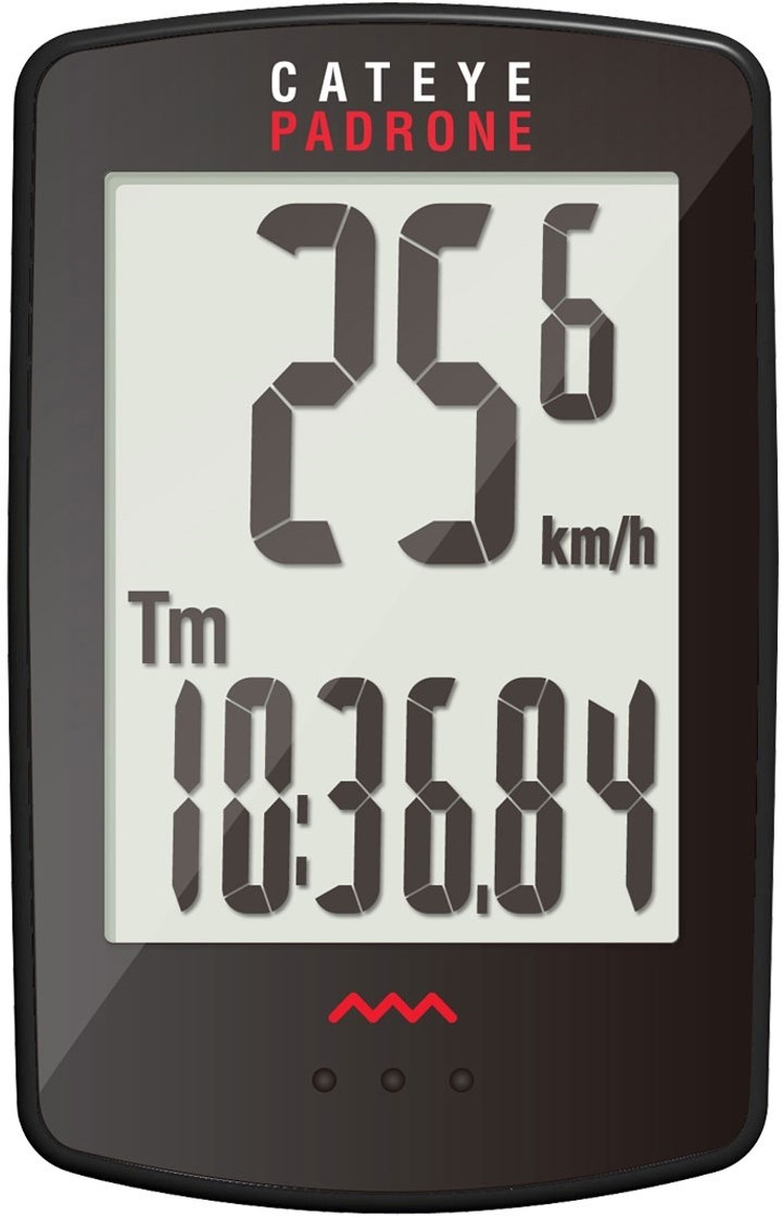Cateye Padrone Large Screen Cycling Computer