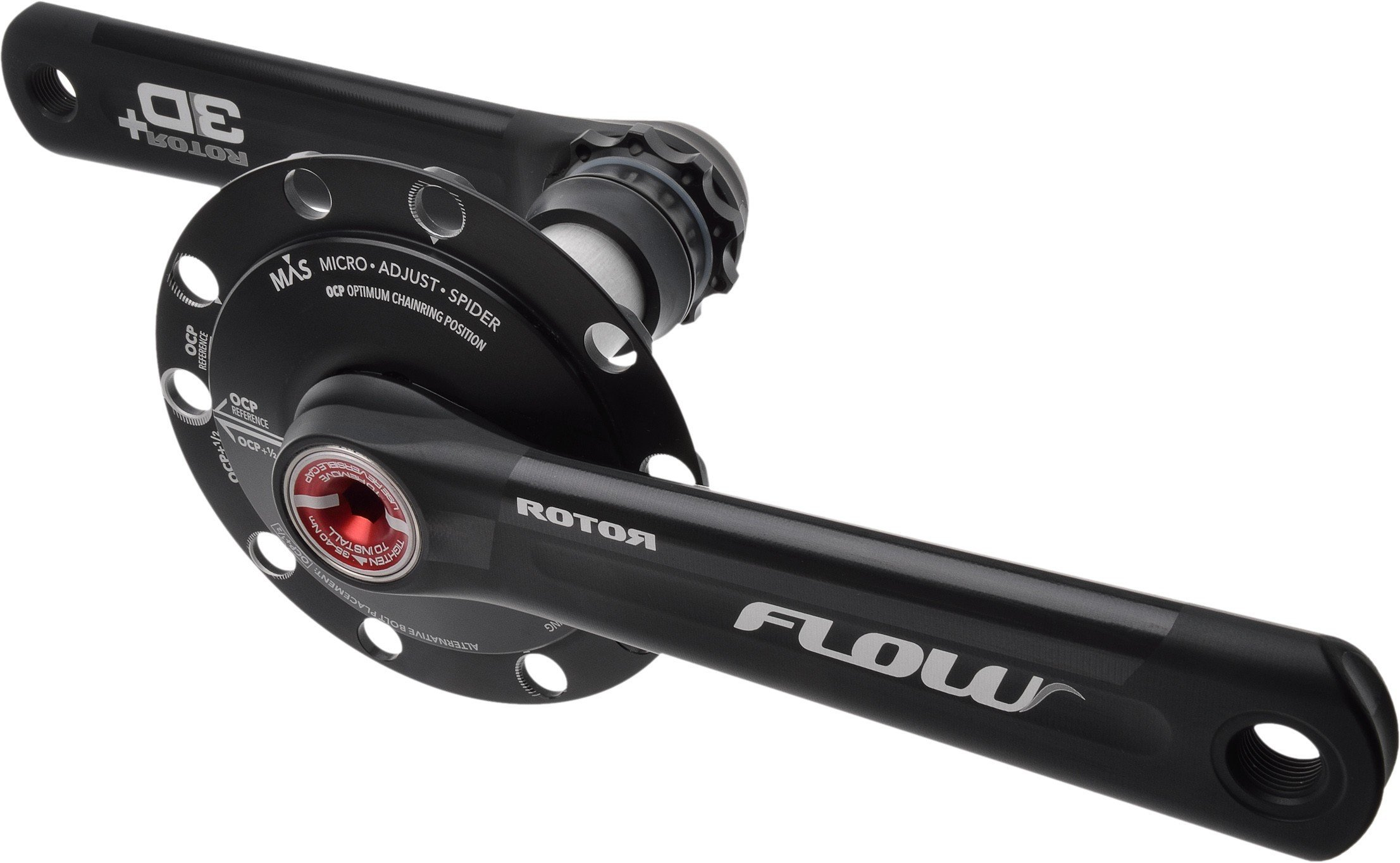 Rotor Flow MAS Road Chainset - 130 BCD