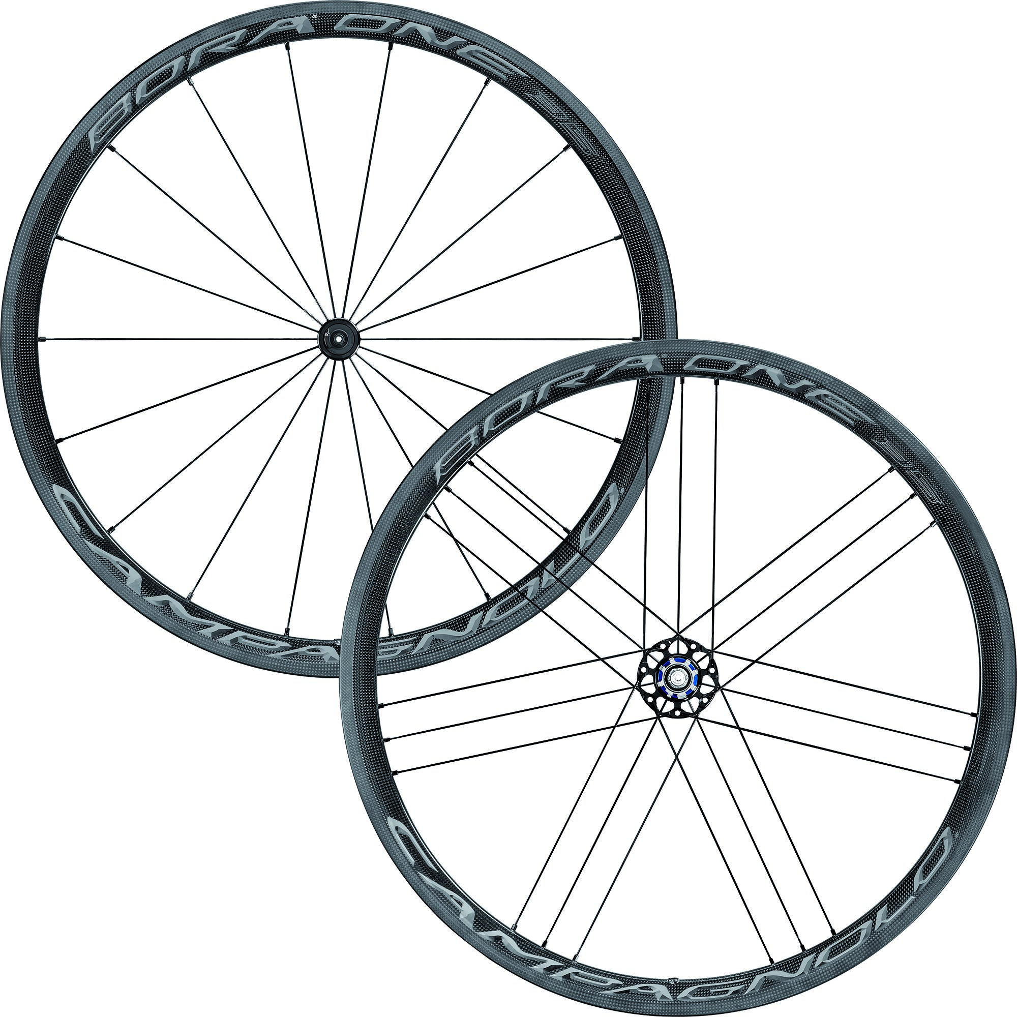 Campagnolo Bora One 35 Dark Clincher Road Wheelset - 2018