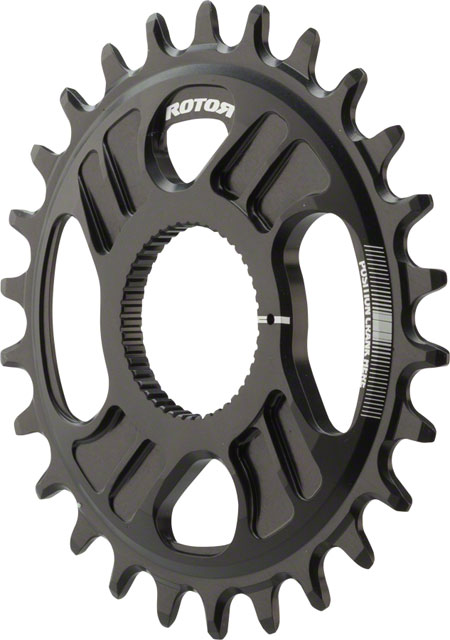 Rotor NoQ-Ring Direct Mount Chainring For Rotor Hawk/Raptor Chainsets