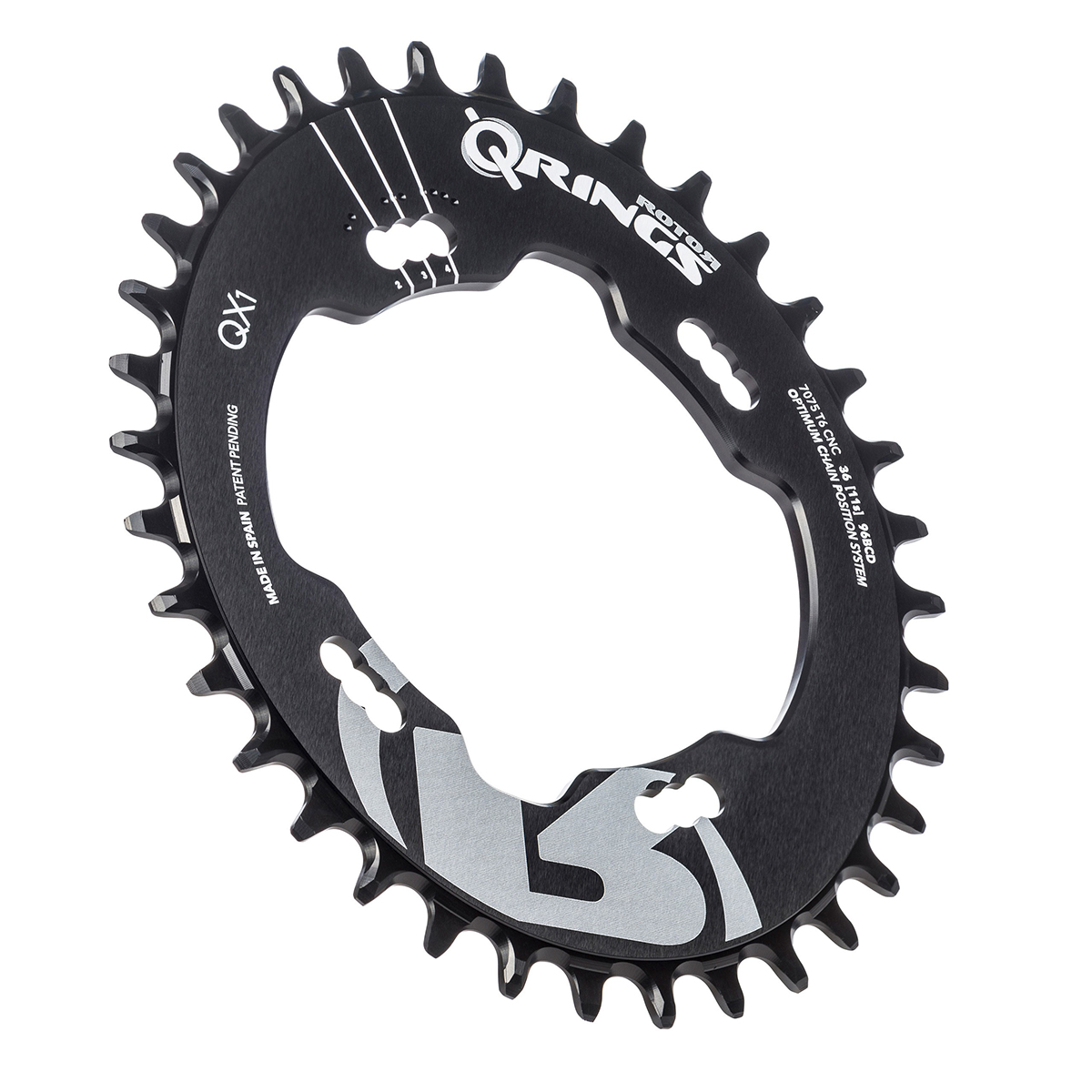 Rotor QX1 Q-Ring Chainring For Shimano XTR Chainset