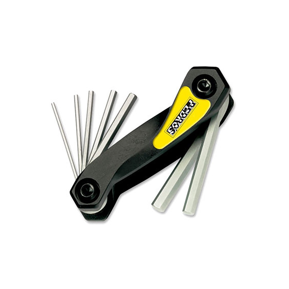 Pedros Folding Hex Wrench Multi Tool