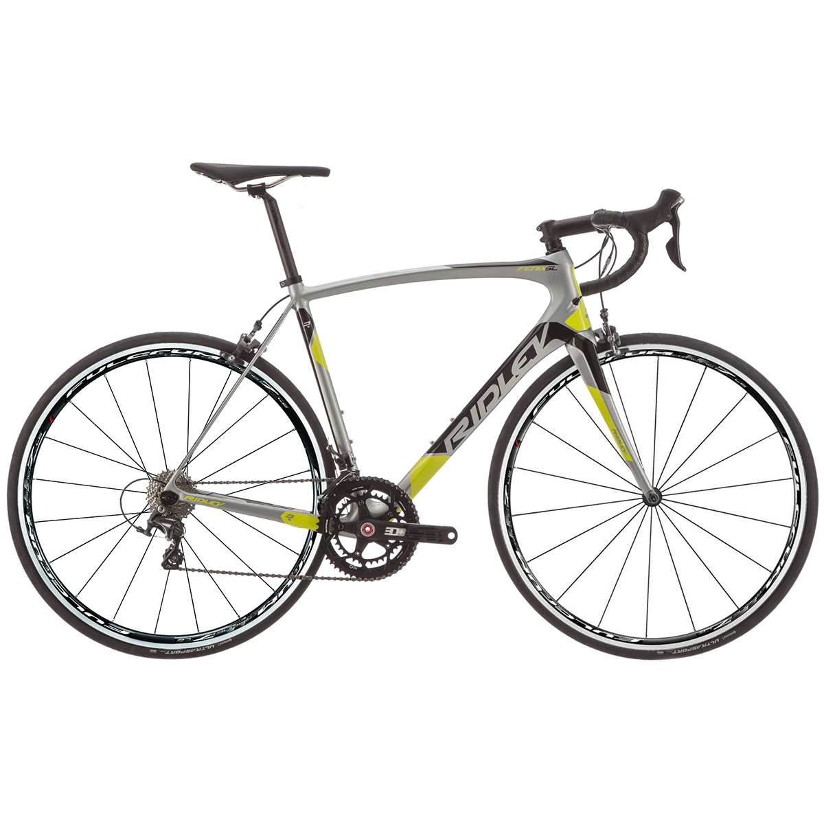 Ridley Fenix SL Ultegra/Rotor Carbon Road Bike - 2017