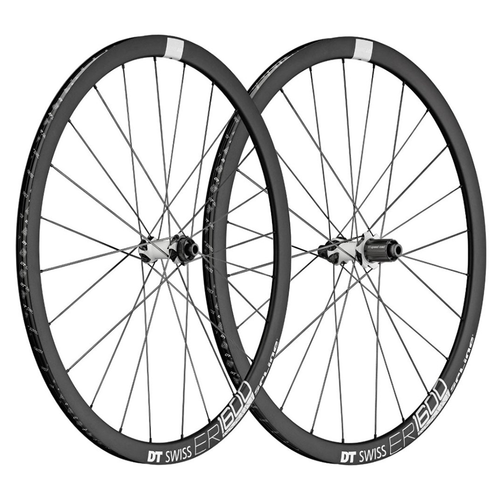DT Swiss ER 1600 Spline 32 Disc Road Wheelset - 700c
