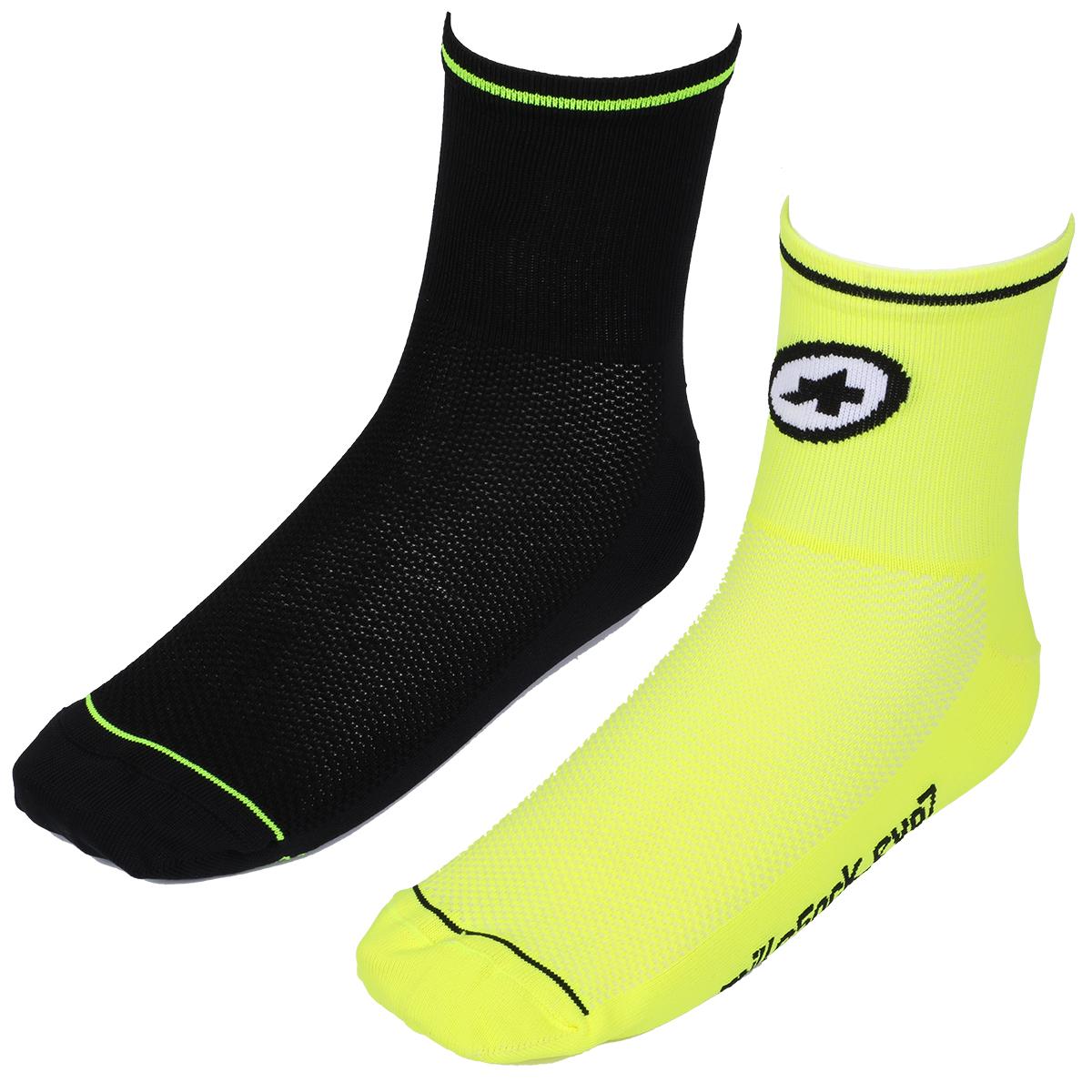 Assos Mille Evo 7 Socks - 2 Pairs