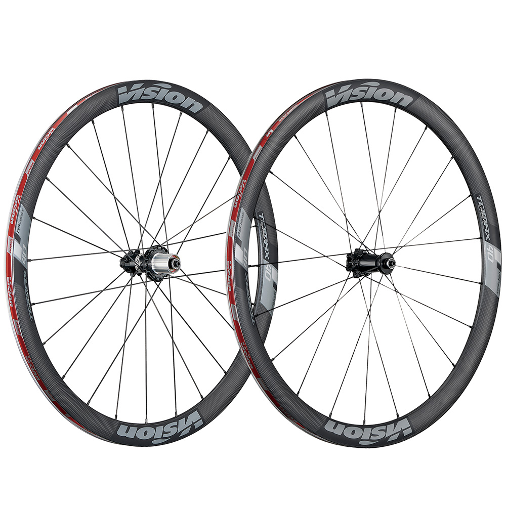 Vision Trimax 40 Carbon Disc Road Wheelset - 700c