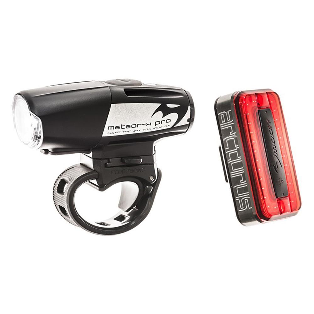 Moon Meteor X Auto Pro & Arcturus Auto Rechargeable Bike Light Set
