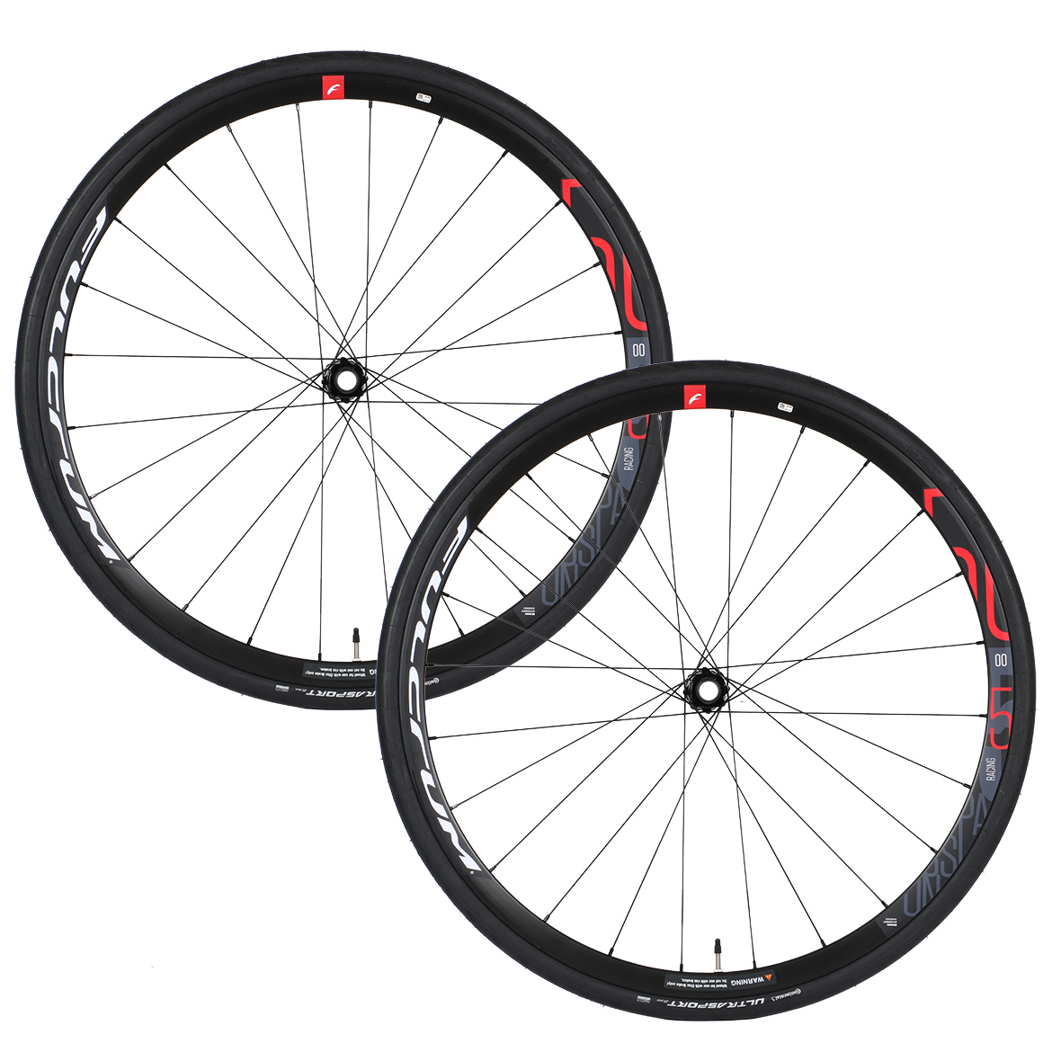 Fulcrum Racing 500 Disc Wheelset With Continental Ultra Sport Tyres