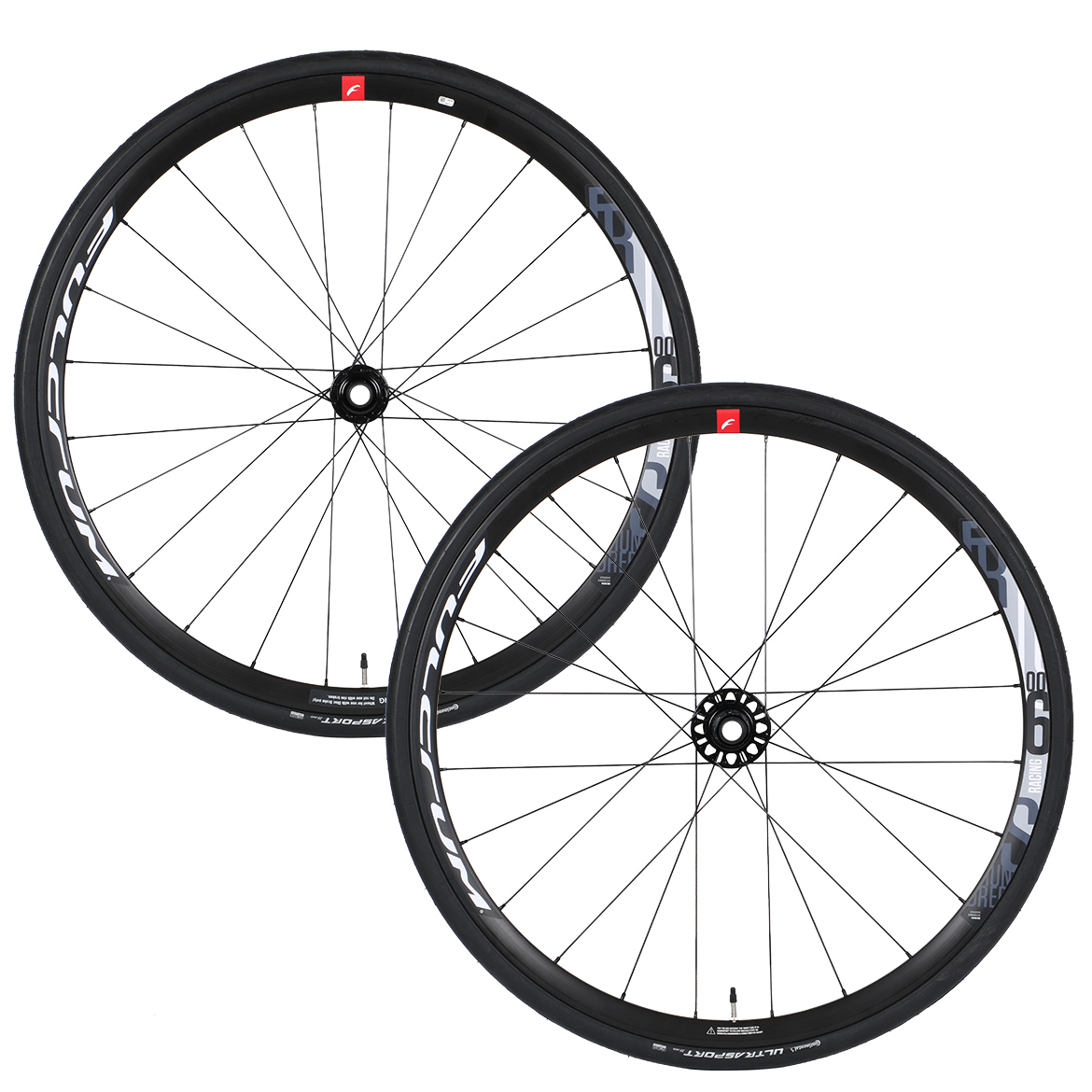 Fulcrum Racing 600 Disc Wheelset With Continental Ultra Sport Tyres