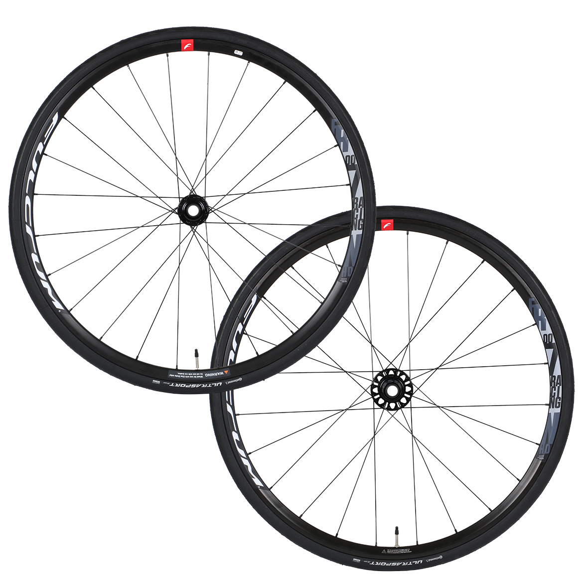 Fulcrum Racing 700 Disc Wheelset With Continental Ultra Sport Tyres